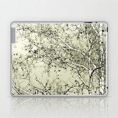 Sycamore Tree, Inky Green Toile Version Laptop & iPad Skin