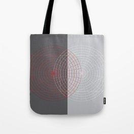 Confused lines Tote Bag