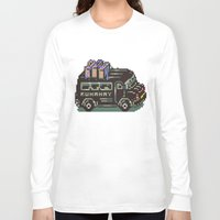 earthbound Long Sleeve T-shirts featuring Runaway 5 Van - Mother 2 / Earthbound by Studio Momo╰༼ ಠ益ಠ ༽