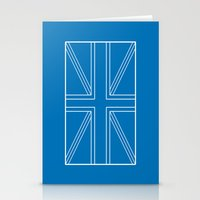 blueprint Stationery Cards featuring Blueprint Jack by Tom Schoffelen