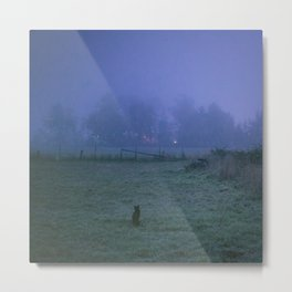 On a foggy night Metal Print