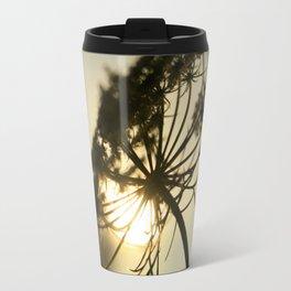 Lace Silhouette Travel Mug
