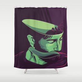 Enemy - Alternative movie poster Shower Curtain