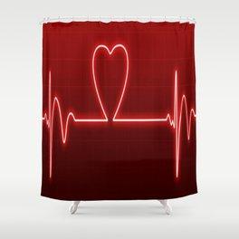Medical Valentine Shower Curtain