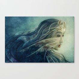 Lionfish mermaid Canvas Print