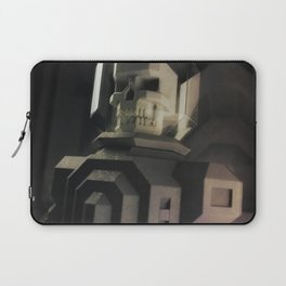 Necronaut low-polygon 3D artwork Laptop Sleeve