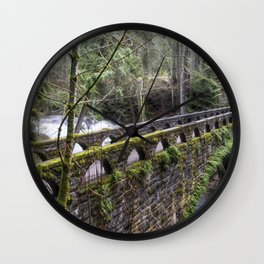 Bridge Over Troubled Waters Wall Clock