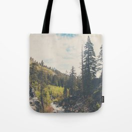 into the wild ...  Tote Bag