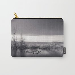 Mammoth lagoon. Monochrome Carry-All Pouch