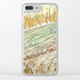 Eno River #5 Clear iPhone Case