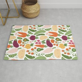 Cute vegetables Rug