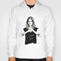jared leto Hoodies featuring Jared Leto fan art by tayeichi