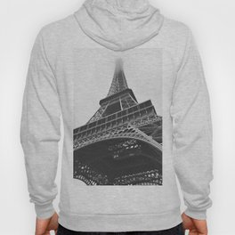 Eiffel Tower (Black and White) Hoody
