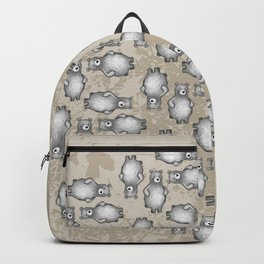 grizzly bear in foliage Backpack