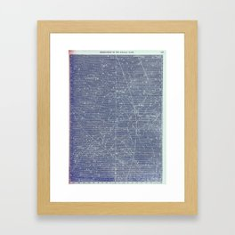 Antique Zodiac Constellation Milky Way Pegasus Print, 2 of 3 Framed Art Print