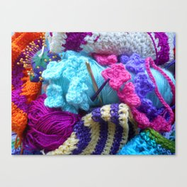 For the love of crafting Canvas Print
