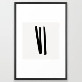 Lines 2, 1 Framed Art Print