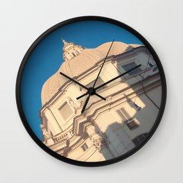 Italian building Wall Clock