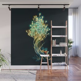 ElectriciTree Wall Mural