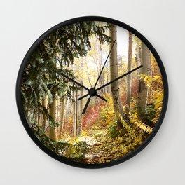 Fairytale Forest Wall Clock