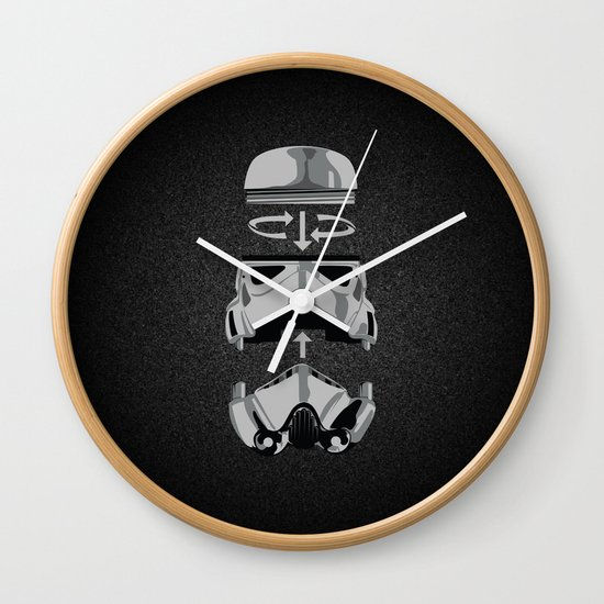 construct-a-trooper. Wall Clock