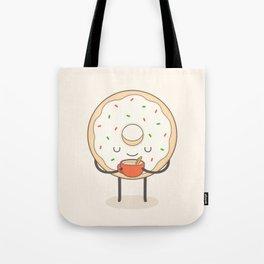 donut loves holidays Tote Bag