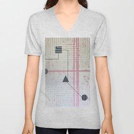 Sum Shape - Line graphic Unisex V-Neck