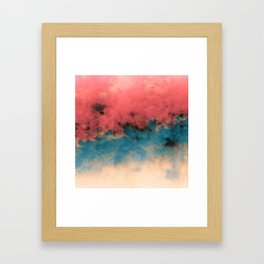 Summer Simmer Framed Art Print