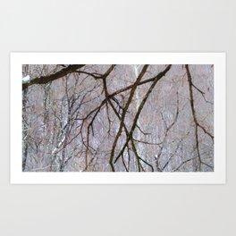 winters angst Art Print