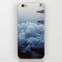 airplane iPhone & iPod Skins featuring airplane by venturesomesouls