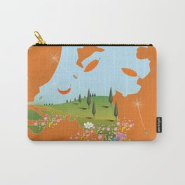 Holland travel poster Carry-All Pouch