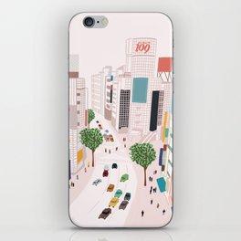 Shibuya 109 iPhone Skin