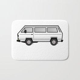 Volkswagen T3 Van White Bath Mat