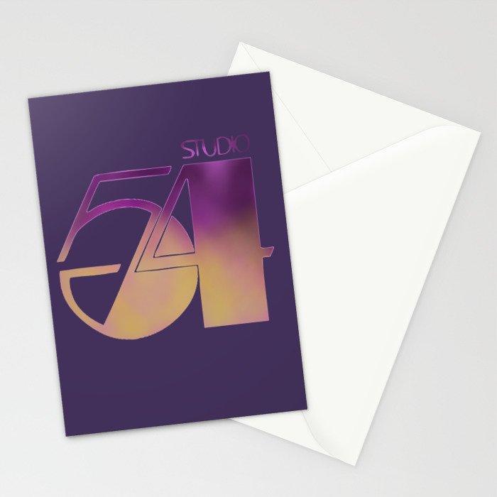 Studio 54 Stationery Cards