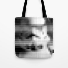 Storm Trooper - StarWars - Pantone Swatch Art Tote Bag