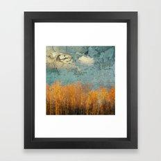 Everglades Abstract Framed Art Print