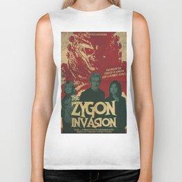 "Doctor Who ""The Zygon Invasion"" Biker Tank"