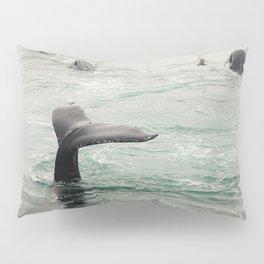 Whale Tail Pillow Sham
