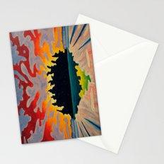 Totem Island Stationery Cards