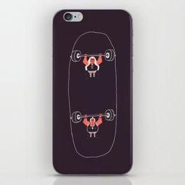 Heavyweight Skateboarding iPhone Skin