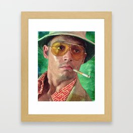 Fear And Loathing Framed Art Print