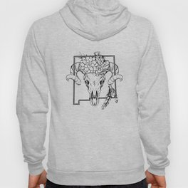 Skull and Succulants Hoody
