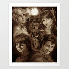 Scooby Doo Art Print
