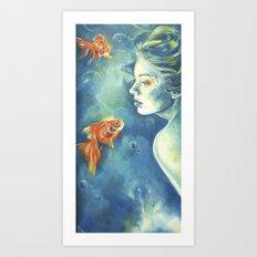Abissi Art Print