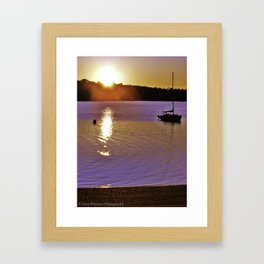 At First Light Framed Art Print