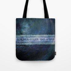 Berliner Mauer Tote Bag