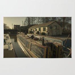 Golden Barges of Stratford Rug