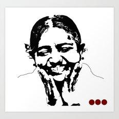 AMMA Art Print