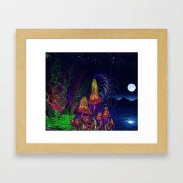 Happy Birthday Terence Mckenna Framed Art Print