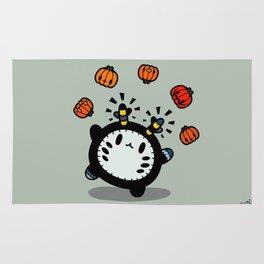 Halloween series - juggle juggle juggle.... Rug